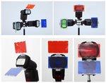 Falcon Eyes Kleurenfilters CFA-30K voor Speedlite Camera Flitsers