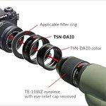 Kowa Adapter TSN-AR46 voor DA1/DA10 46 mm
