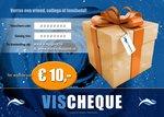 VisCheques - Cadeaubon t.w.v. € 10,00