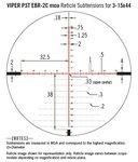 Vortex Viper PST Gen II 3-15x44 FFP richtkijker, EBR-2C Dradenkruis (MOA) tactical scope