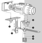 Yukon Camera Adapter voor Compact Camera NVMT nachtkijkers