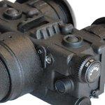 Luna Optics LN-EB5-LRF Binoculaire nachtkijker met afstandsmeter Gen 2+ Hi-Res