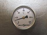 Multismoke Rookoven HM 12540 RVS - lange palingroker_