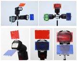 Falcon Eyes Kleurenfilters CFA-30K voor Speedlite Camera Flitsers_