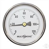Multismoke Rookoven Temperatuurmeter middel lang_