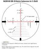 Vortex Razor HD 5-20x50 Richtkijker, EBR-2B Dradenkruis (MRAD)_
