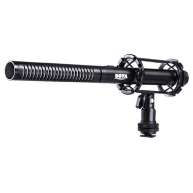 Boya Professionele Condensator Shotgun Richtmicrofoon BY-PVM1000