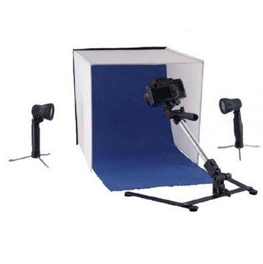 Falcon Eyes Opvouwbare Opnamebox PBK-40AB-2LS 40x40 cm + 2 x 50W Lampen