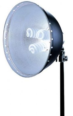 Linkstar Daglichtlamp FLS-40N3 3x28W + Reflector 40 cm