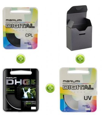 Marumi Filterset 62 mm - 3 Filters