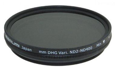 Marumi Grijs Variabel Filter DHG ND2-ND400 62 mm