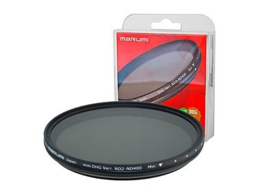 Marumi Grijs Variabel Filter DHG ND2-ND400 55 mm