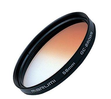 Marumi Kleurverloop Filter Bruin 49 mm
