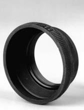 Matin Rubber Zonnekap met Metalen Ring 52 mm M-6217