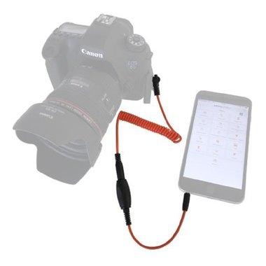 Miops Smartphone Afstandsbediening MD-P1 met P1 kabel voor Panasonic/Leica