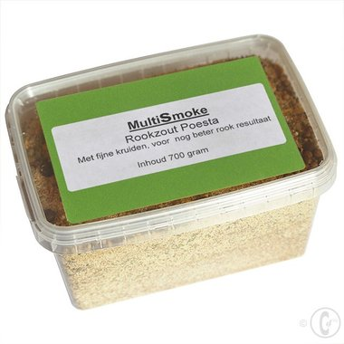 Multismoke Rookzout Poesta 700 gram