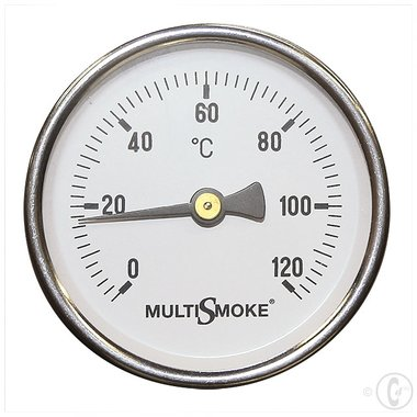 Multismoke Rookoven Temperatuurmeter middel lang