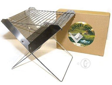 Multismoke Travelgrill - Inklapbare Barbecue / Tafelgrill RVS