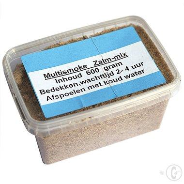 Multismoke Rookzout Zalm Mix Alaska 0,6 KG