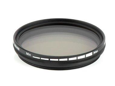 Pixel Grijs Variabel Filter ND2-ND400 DHG 52 mm