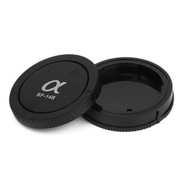 Pixel Lens Rear Cap BF-14L + Body Cap BF-14B voor Sony