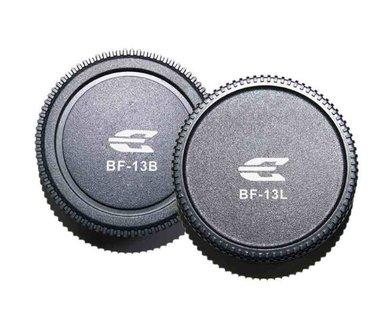 Pixel Lens Rear Cap BF-13L + Body Cap BF-13B voor Olympus Reflex