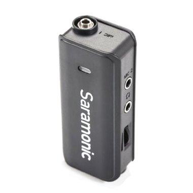 Saramonic Dual Audio Mixer LavMic met Lavalier Microfoon voor DSLR/GoPro/Smartphones