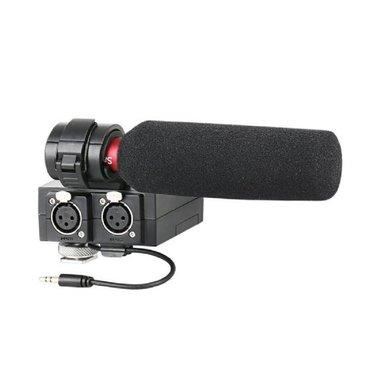 Saramonic XLR Audio Adapter Set MixMic met Microfoon