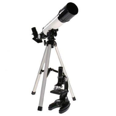 Byomic Beginners Telescoop & Microscoopset in koffer