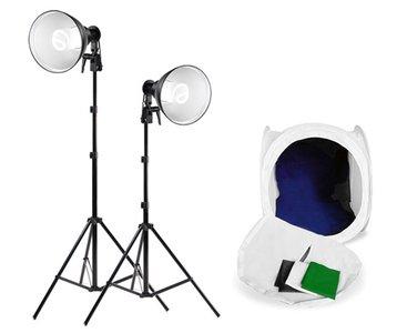 Falcon Eyes Productfoto Set LHK-240 met LFPB-2