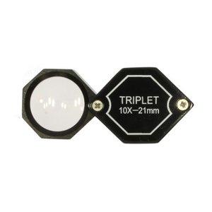 Inslagloep Triplet 10x 20,5 mm