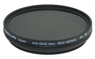 Marumi Grijs Variabel Filter DHG ND2-ND400 67 mm